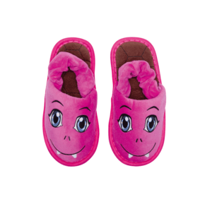 "Baby Slipper ""Monster pink"""