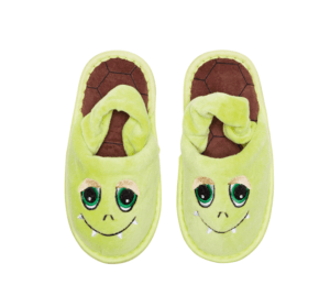 "Baby Slipper ""Monster grün"""