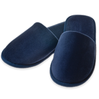 Premium Velours Closed – Blue