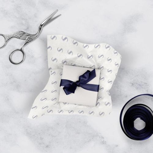 Seidenpapier Seidenbänder