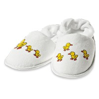 "Baby Slipper ""Ducky Family"""