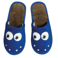 Monster Slipper Blau