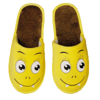 Monster Slipper Gelb