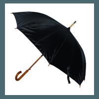 Holzstock-Schirm