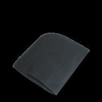 Baumwollschuhputzhandschuh, schwarz