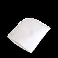 Baumwollschuhputzhandschuh, weiß