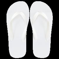 EVA Pool Slipper, weiß, 30cm
