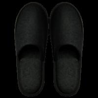 Frottee Comfort Closed, schwarz, 31cm
