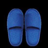 Kids Frottee Comfort Open, blau, 22cm