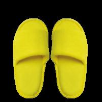 Kids Frottee Comfort Open, gelb, 22cm
