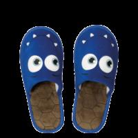 Kids Velours Exclusive Closed, Monster-blau, 22cm