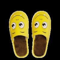 Kids Velours Exclusive Closed, Monster-gelb, 22cm
