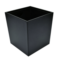 Papierkorb konisch schwarz