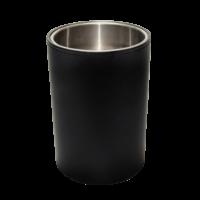 Papierkorb rund schwarz