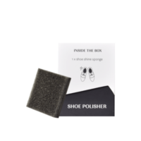 Shoe Polisher Design Line Black