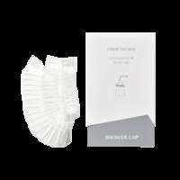 Shower Cap Design Line Grey
