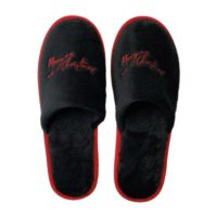 Eventslipper_Merry Christmas black