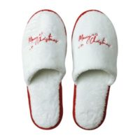 Eventslipper_Merry Christmas white