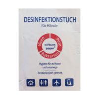 Desinfektionstuch-Hände