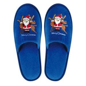 Merry Christmas Big Santa Weihnachtsslipper