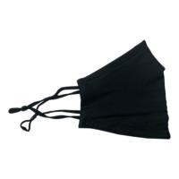 Textile Mund-Nasen-Maske schwarz