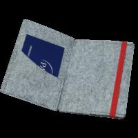 Kartenmappe offen